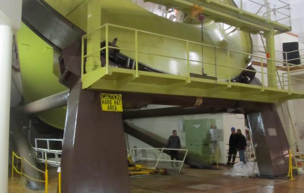 Observatory Mirror Elevator